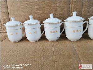 景德镇高温瓷茶杯订制,陶瓷办公泡茶杯碟定制