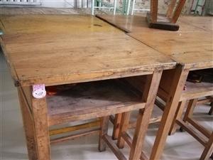 ���木�W生桌椅八成新�理