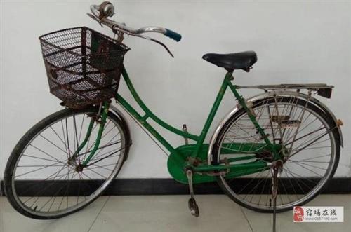 怀旧:老凤凰牌古董自行车