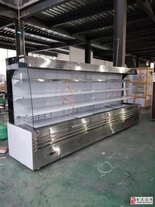 重庆风幕柜串串香风幕柜喷雾冷风柜定做厂家