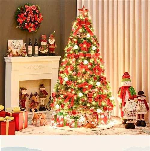1.8米圣誕樹+80cm圣誕花環閑置轉讓,價格美麗