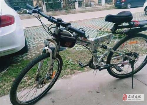 山地自行车闲置