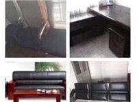 长葛处理二手办公桌,老板桌,办公沙发,办公椅