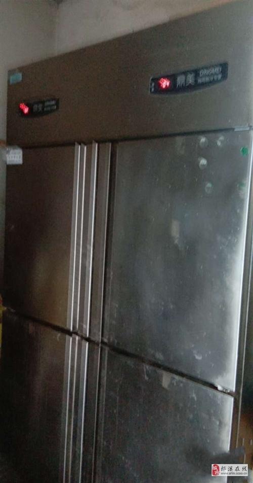 转让两台四开门冰柜
