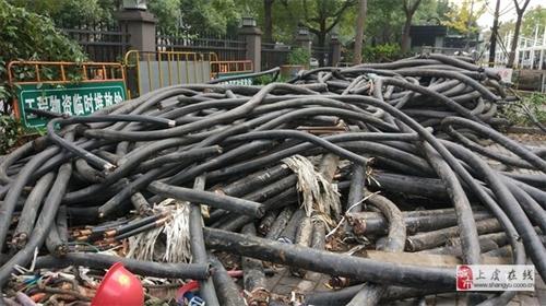 上虞市周邊上門回收電纜線、蓋北工地、公司電纜線回收