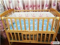 品牌婴儿床基本没用过,闲置处理,给钱就卖