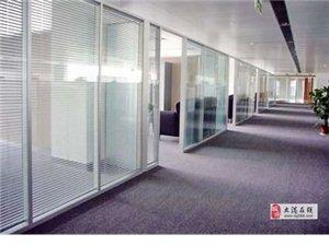 天津南开区安装玻璃隔断示意图