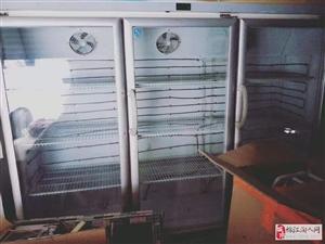 二手3开门冰柜低价出售
