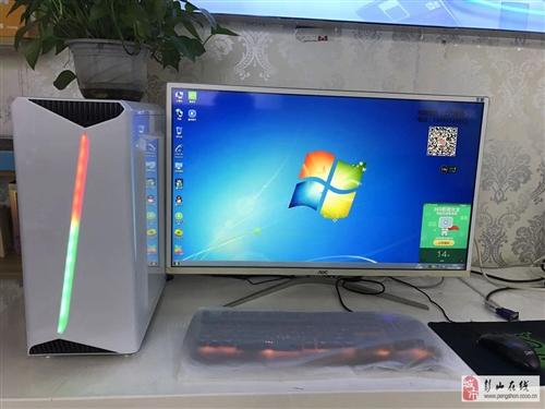 賣1臺i5+32顯示器二手游戲電腦