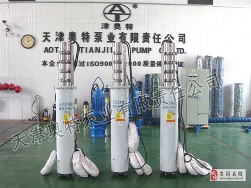 300QH200型礦山高海拔抽水海水提升電泵