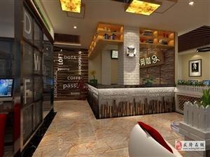重慶武隆網吧專業設計就找唯楷裝飾