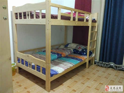 全实木床高低床上下床双层床上下铺成年大人宿舍床