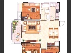 名邦・国际花都3室2厅2卫87万元急售价格优