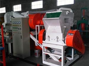 全自動銅米機,環保型銅塑分離機的原理及應用