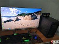吃雞游戲主機I5處理器8G內存32寸超博顯示器
