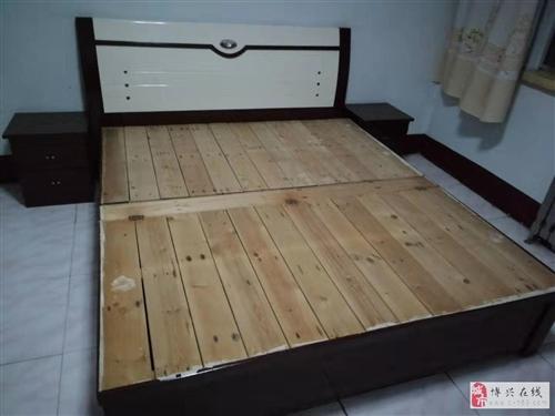 实木大床,转让