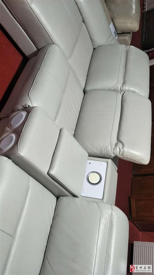 真皮未开封原装沙发5000处理。