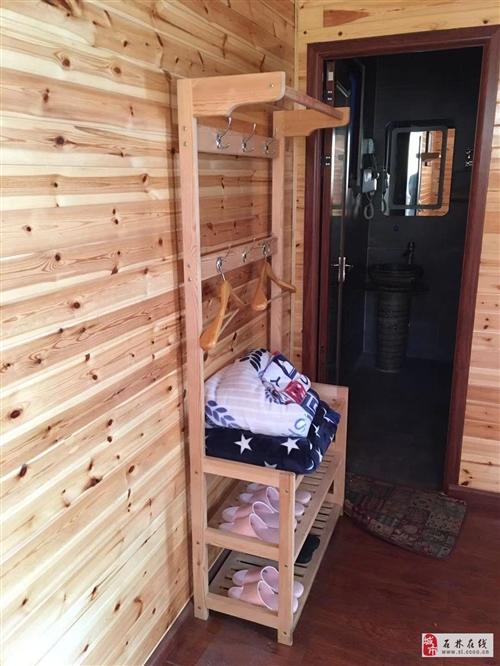 實木簡易衣柜