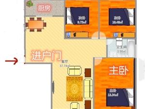 高新区汴北安置小区急售直签协议 三室 125.4平