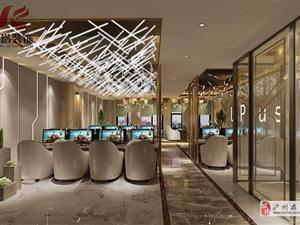 四川瀘州網吧、電競酒店裝修設計  專業的裝飾公司