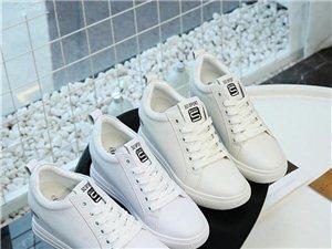 廣州品牌折扣鞋慕蘭茜 小白鞋