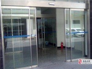 天津紅橋區安裝玻璃門/**感應門安裝