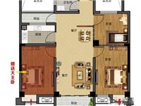 佳城北郡9楼94平赠送一个大卧室仅售38万