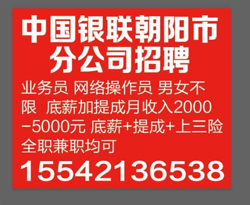 中国银联朝阳分公司
