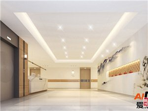 重慶江津養老院裝修 大型康養中心裝潢設計 愛港裝飾
