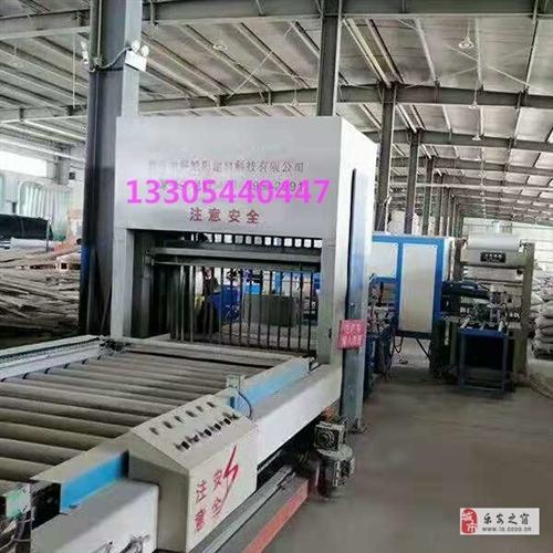 低价出售全自动水泥发泡保温板生产线
