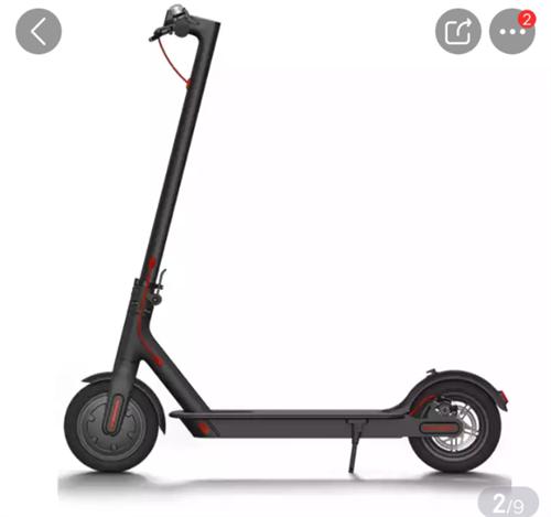 全新小米电动滑板车低价转让