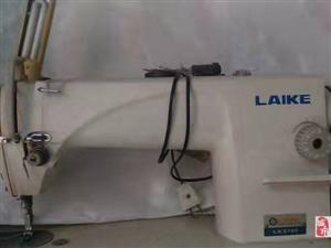 出售一台电动缝纫机八成新,电机带快慢扭的