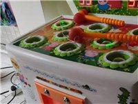 玩具店处置全新打地鼠投币机