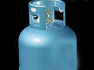 大号煤气瓶,2018年8月购买,只充过一次气