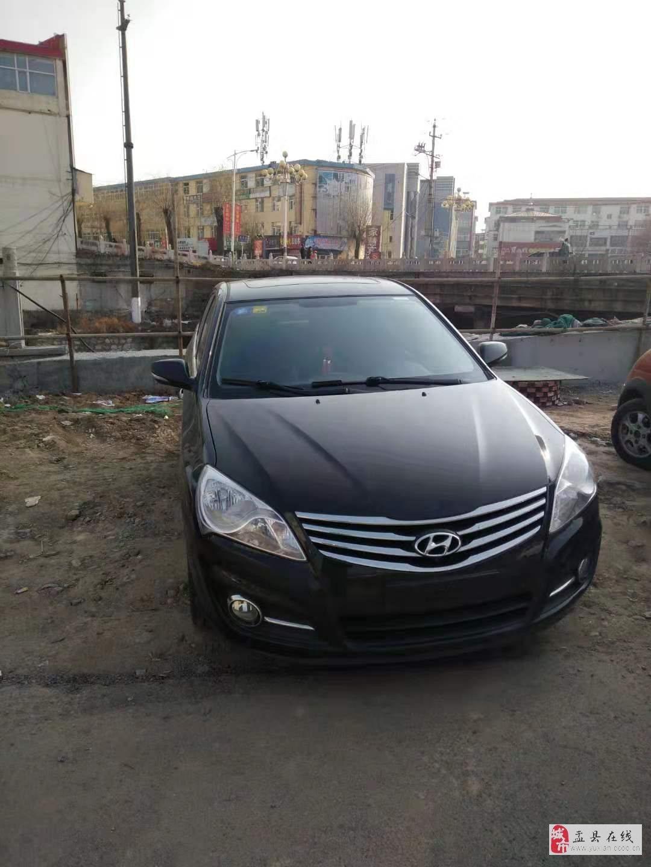 出售2011款现代悦动1.6L自动挡豪华版轿车