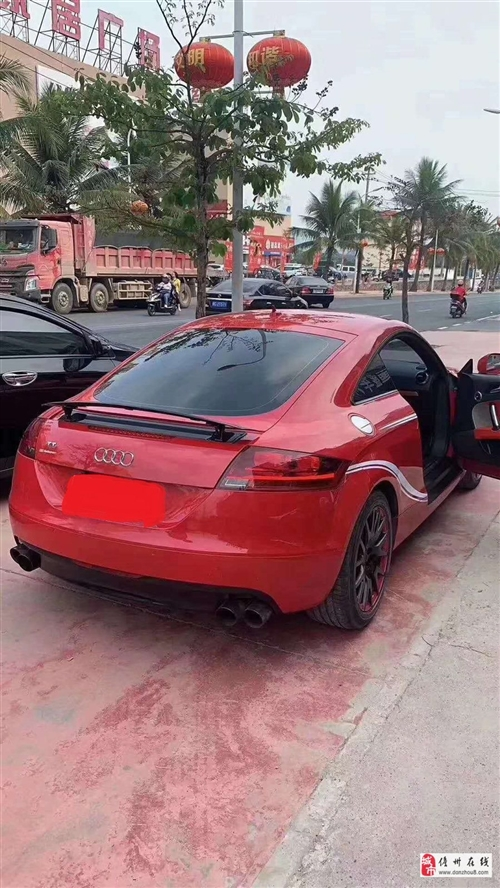 出售奧迪TT紅色跑車(備案車,無需指標)