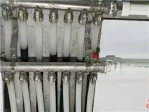 地暖清洗  效果看的见  更换分水器