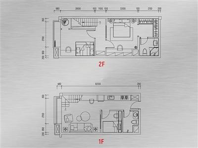 loft跃层酷居户型图1