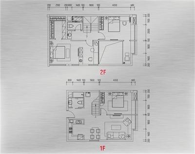 loft跃层酷居户型图2