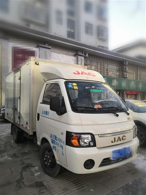 箱货车 江淮 康玲X1  3.2米加长箱