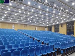 西寧禮堂影院椅階梯教室劇院多功能帶寫字板座椅會議椅