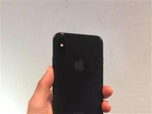 转让一台原装黑色苹果X
