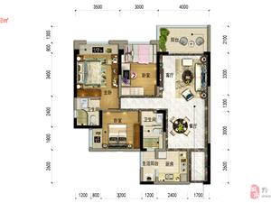 碧桂园112平3室2厅2卫52万元一手楼盘资源无中介