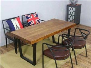 销售全新工业风格桌椅欧式新款沙发定制