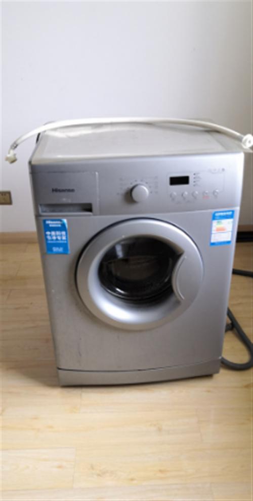 出售二手海信滚筒洗衣机