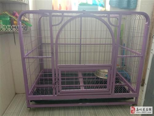 紫色狗笼子出售