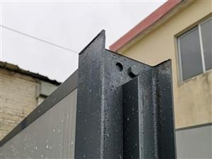深圳PVC圍擋 工程圍擋廣告 鋼結構圍擋高度2~8