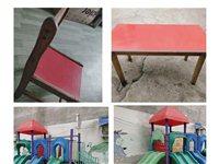 转让一批幼儿园桌椅,滑滑梯,有意者请联系