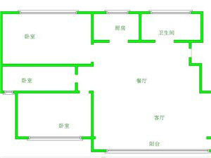 圣和雅居园1楼3室109平带车库49万
