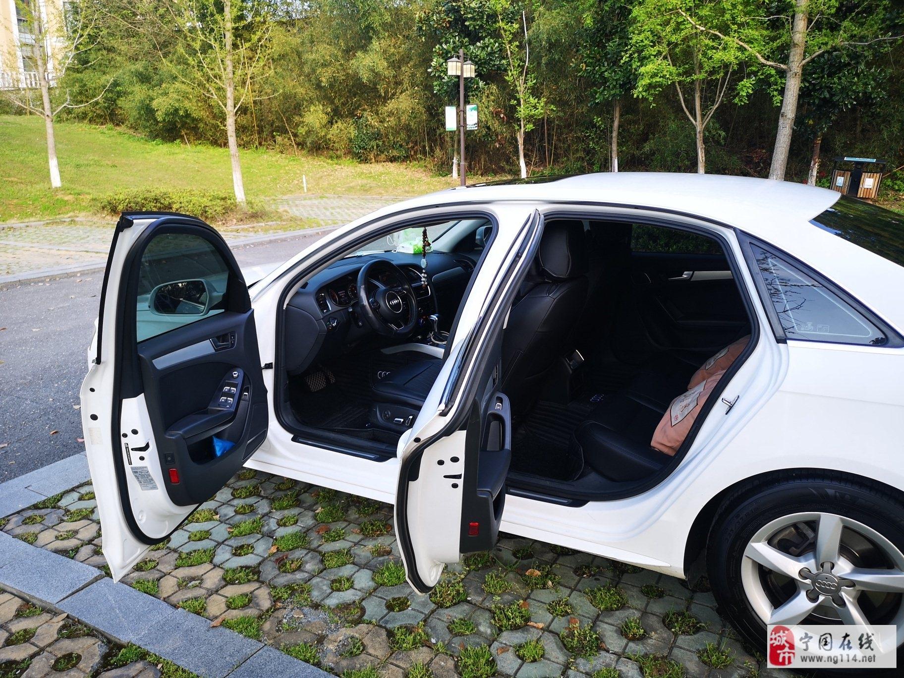 奥迪.A4L2.0T自动挡私家车一辆,换车出售